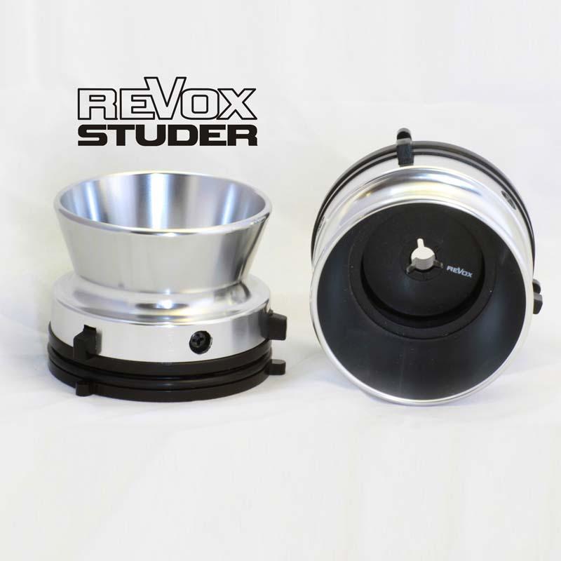 Aluminum Nab Hub Adapters For Stude Revox Silver