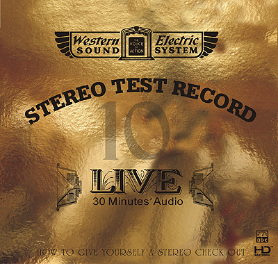 Live 10—30 Minutes' Audio Test CD